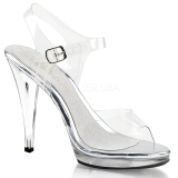 Silver 11,5 cm FLAIR-408 Womens High Heel Sandals