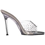 Strass steentjes 11,5 cm FABULICIOUS GALA-01SD dames slippers met hak