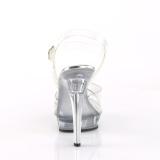 Transparant 13 cm LIP-108R2 fabulicious poseerschoenen - fitness wedstrijd hakken