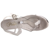 Transparant 18 cm TIPJAR-708-2 stripper sandalen paaldans schoenen