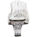 Transparant 5 cm CRYSTAL-103 Hoge Avond Pumps Schoenen met Hak
