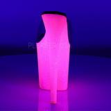 Transparant FLAMINGO-801UVG 20 cm Neon Plateau Mules Schoenen