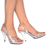 Transparent 10,5 cm CARESS-456 Womens High Heel Sandals