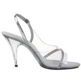 Transparent 10,5 cm CARESS-456 Womens High Heel Sandals