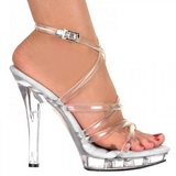 Transparent 13 cm LIP-106 Platform High Heels Shoes