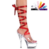 Transparent 15 cm Pleaser KISS-295 High Heels Platform