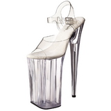 Transparent 25,5 cm Pleaser BEYOND-008 High Heels Platform