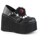 Vegan 11,5 cm Demonia KERA-11 lolita schoenen met plateau