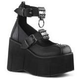 Vegan 11,5 cm Demonia KERA-12 lolita schoenen met plateau