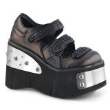 Vegan 11,5 cm Demonia KERA-13 lolita schoenen met plateau