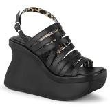 Vegan 11,5 cm Demonia PACE-33 lolita sandalen met plateau
