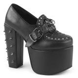 Vegan 14 cm Demonia TORMENT-500 lolita schoenen met plateau