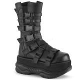 Vegan 7,5 cm NEPTUNE-210 demonia boots - unisex platform boots
