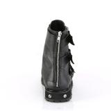 Vegan VALOR-150 demonia ankle boots - unisex combat boots