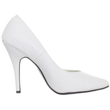 White Shiny 13 cm SEDUCE-420V Pumps High Heels for Men