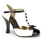 White Suede 10 cm SMITTEN-10 Women Pumps Shoes Flat Heels