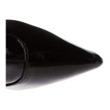Wijde schacht 9,5 cm LUST-3000X brede schacht overknee laarzen