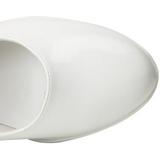 Wit 10 cm CONTESSA-50 Mary Jane Pumps Schoenen