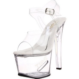 Wit 18 cm TIPJAR-708-5 stripper sandalen paaldans schoenen
