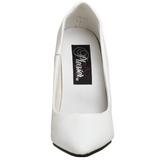 Wit Lak 10 cm VANITY-420 Hoge Hakken Pumps voor Heren