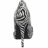 Zebra Patroon 12 cm SAFARI-06 Pumps Schoenen met Naaldhakken