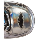 Zilver 12,5 cm CAMEL-201 gothic lolita enkellaarzen plateau