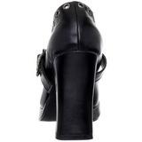 Zwart 10,5 cm CRYPTO-05 Mary Jane Pumps Schoenen