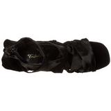 Zwart 11,5 cm CHIC-26 Stiletto Sandalen met Hoge Hak