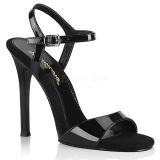Zwart 11,5 cm GALA-09 fabulicious naaldhak sandalen
