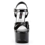 Zwart 16,5 cm CANDY-40 damesschoenen met hoge hak