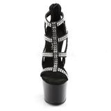 Zwart 18 cm ADORE-798 damesschoenen met hoge hak
