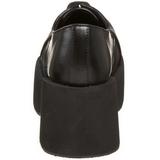 Zwart 8,5 cm DANK-101 lolita damesschoenen met plateauzolen
