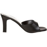 Zwart 8,5 cm Fabulicious ROMANCE-301-2 Hoge Dames Slippers