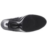 Zwart Lak 11,5 cm FLAIR-480 dames pumps voor mannen