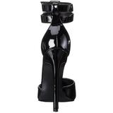 Zwart Lak 13 cm SEXY-36 Pumps Schoenen met Naaldhakken