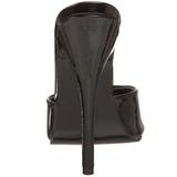 Zwart Lak 15 cm DOMINA-101 Hoge Dames Slippers