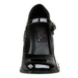 Zwart Lak 8 cm GOGO-50 Pumps Schoenen