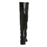 Zwart Mat 7,5 cm Funtasma GOGO-300 Dames Laarzen