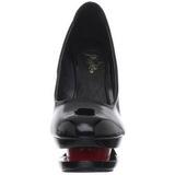 Zwart Rood 15 cm BLONDIE-685 Pumps Schoenen met Naaldhakken