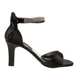 Zwart Strass 8,5 cm ROMANCE-372 Dames Sandalen met Hak